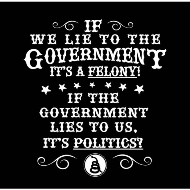 govt lies