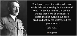 Hitler quote