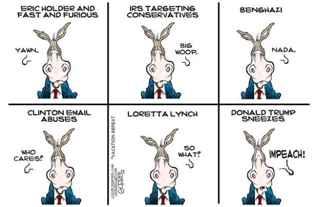 Left-Wing Hypocrite