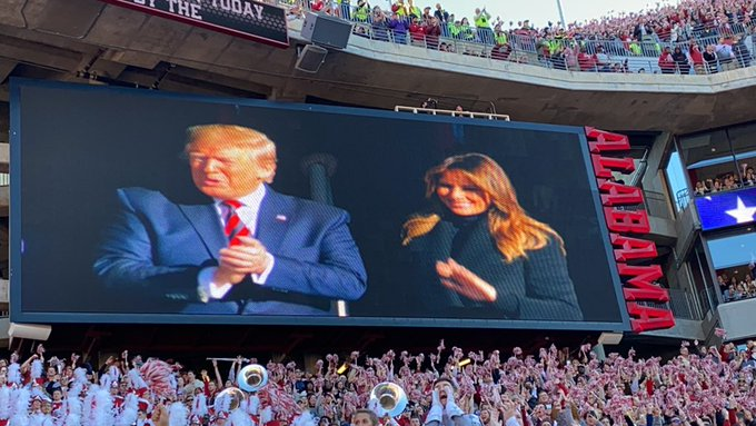 They Loved Him  President Trump Gets Massive Standing